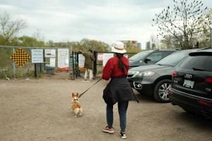 Etobicoke Valley Dog Park - Entrance