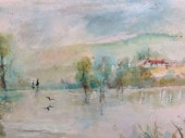 Lakeside (water colours)