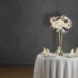 Mirror Gold Tall Table Vase (74cmH)