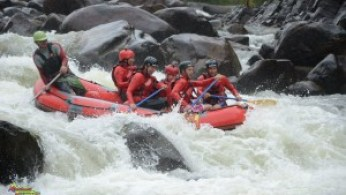 White water rafting in Queensland