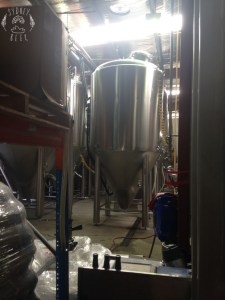 Young Henrys brewing stainless steel