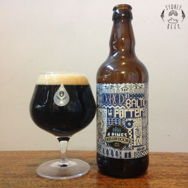 4 Pines Oaked Baltic Porter
