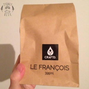Craftd glass Le Francois package