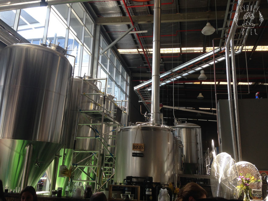 Rocks Brewing Co brewery