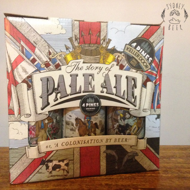 4 Pines Story of Pale Ale box