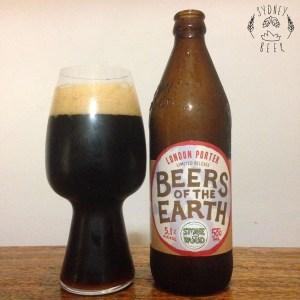 Stone & Wood Beers of the Earth London Porter