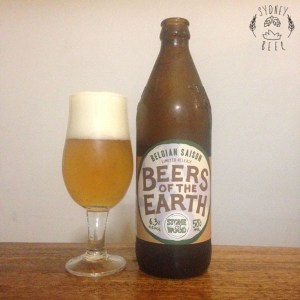 Stone and Wood Beers of the Earth Belgian Saison