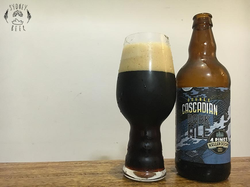 4 Pines Keller Door Double Cascadian Dark Ale