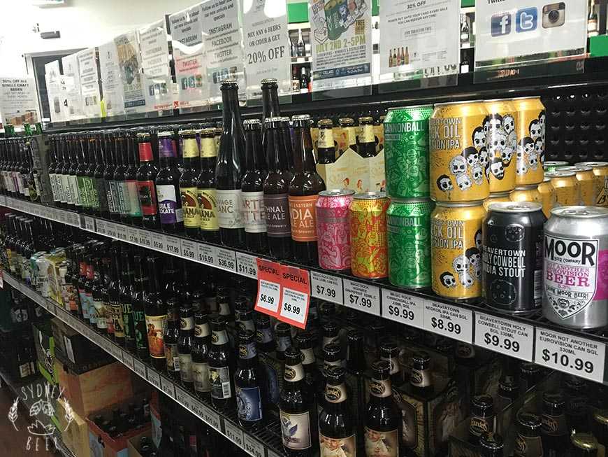 Ashfield Mall Cellars imported beer