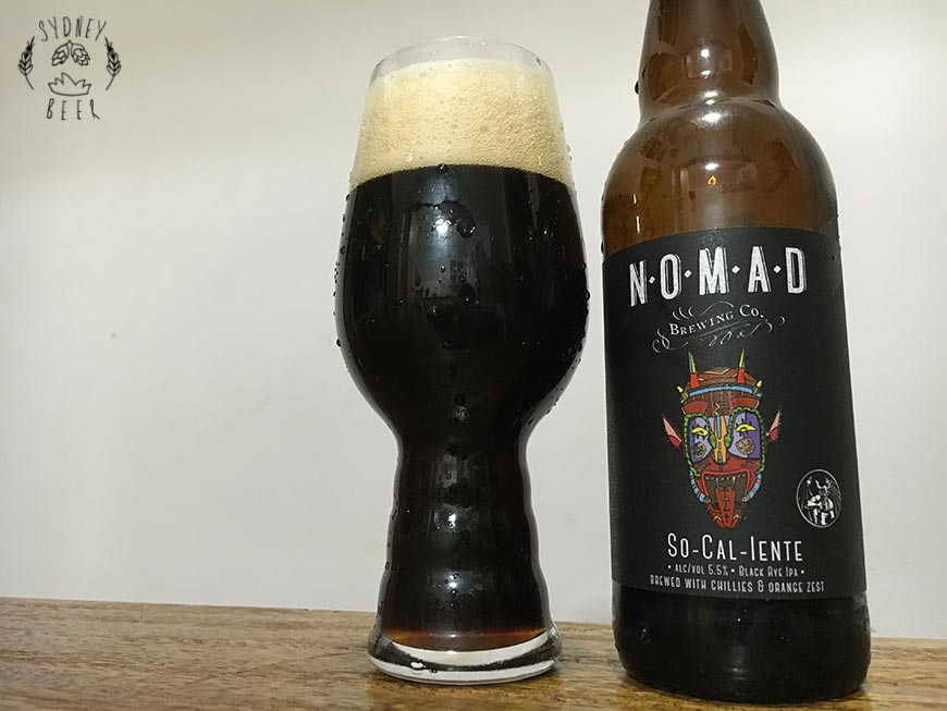 Nomad So-Cal-Iente Stone Brewing Collaboration