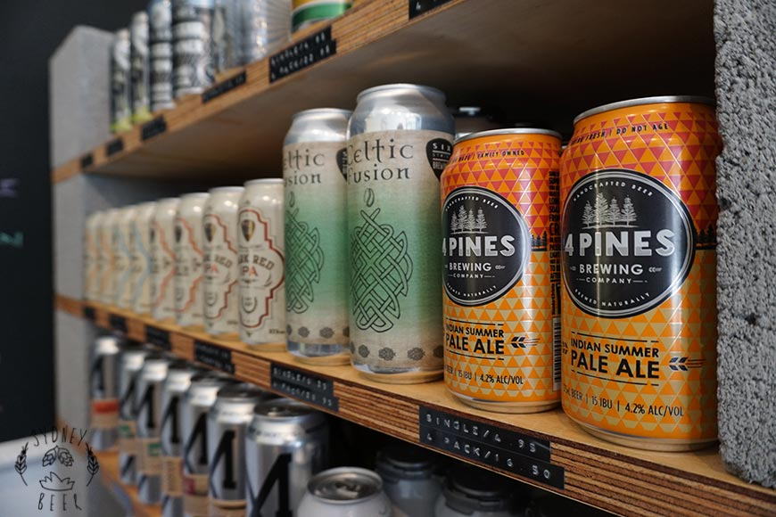 Medhurst & Sons craft beer tinnies
