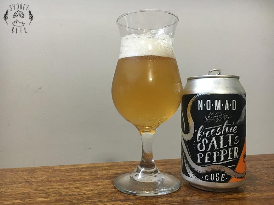 Nomad Freshie Salt & Pepper Gose