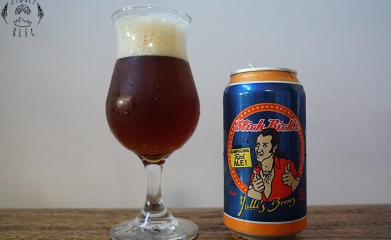 Yulli's Brews Slick Rick's Rampaging Red Ale