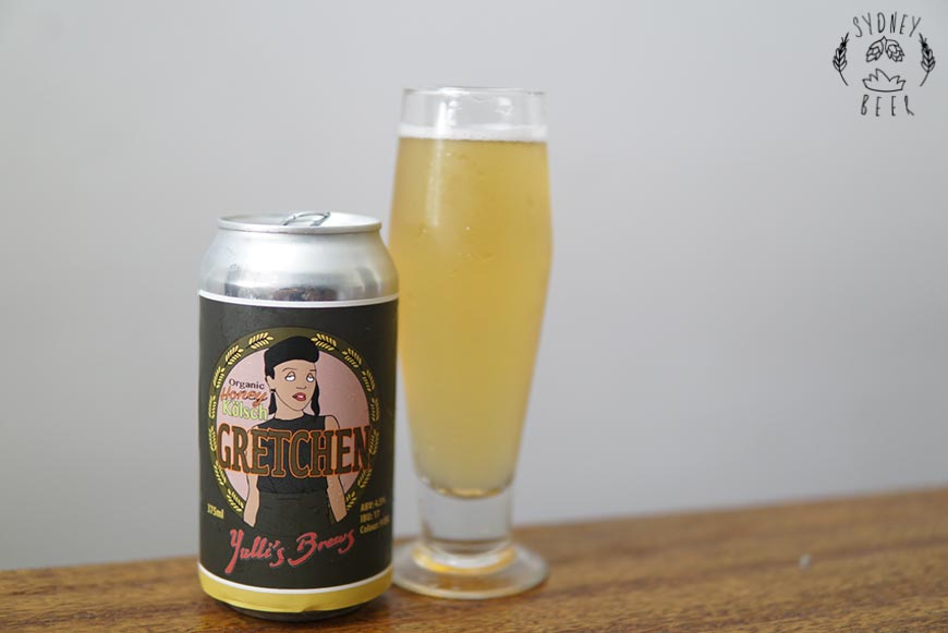 Yulli's Brews Gretchen Organic Honey Kolsch