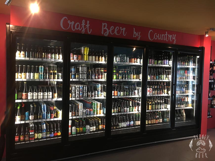 Bucket Boys craft beer by country