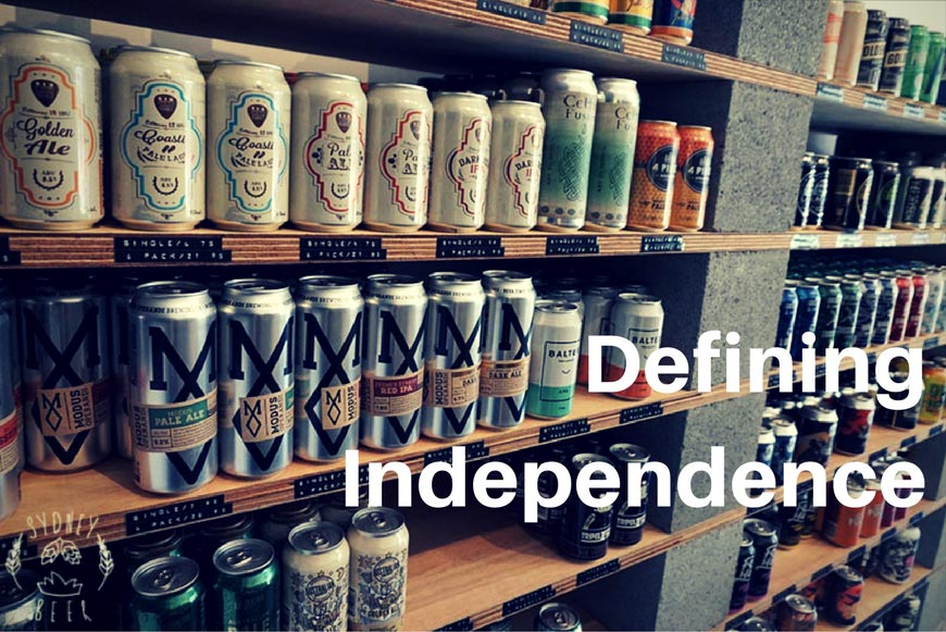 Defining Independence in Beer