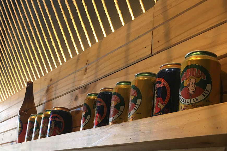 Yulli's Surry Hills - Norman cans
