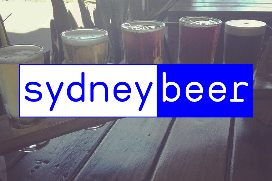 SydneyBeer relaunch