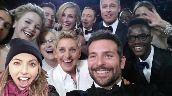 Syd @ Oscars #Selfie