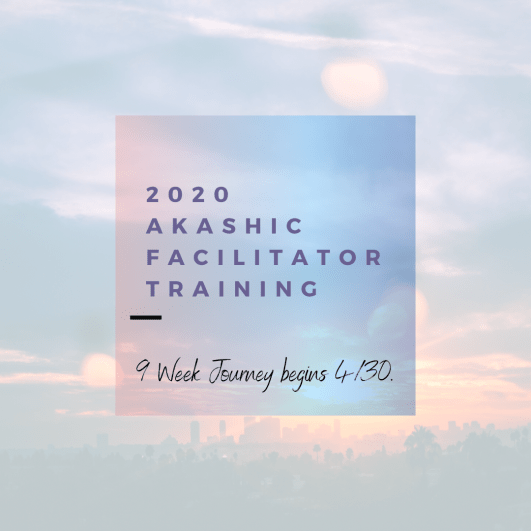 Copy of Copy of 2020 Akashic Facilitator Training