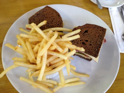 </p><br /> <p>The Reuben Sandwich, one of many delicious lunch options<br /><br />