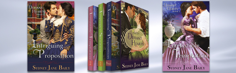 Defiant Hearts series covers
