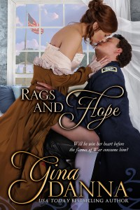 Cover for Rags and Hope by Gina Danna