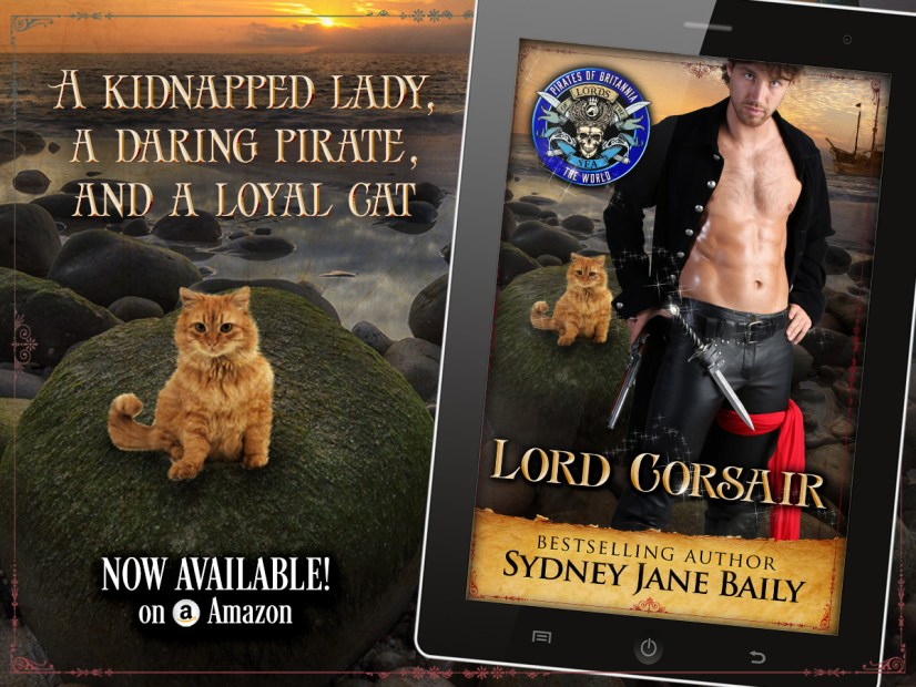 Graphic for Lord Corsair by Sydney Jane Baily