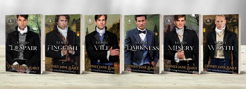 Six Beastly Lords on bookshelf