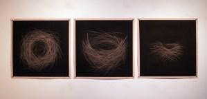 Titles: void nest: haven, void nest: precarious, void nest: refuge