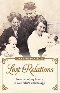 Lost Relations by Graeme Davison Cover