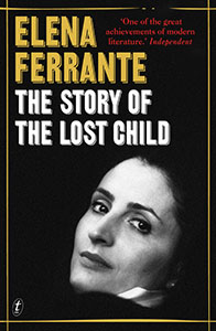 The story of the lost child by Elena Ferrante covercover