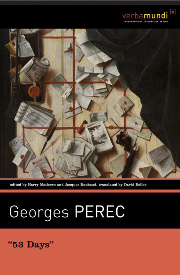 "Georges Perec ""53 Days"" Cover"