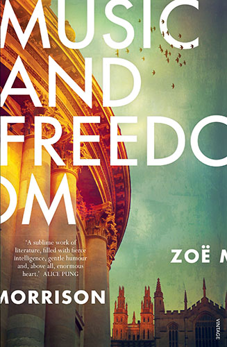 Music and Freedom by Zoe Morrison cover