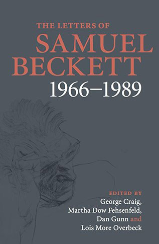 The Letters of Samuel Beckett 1966-1989 book cover crop