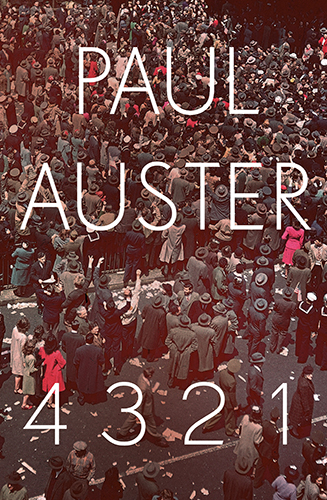 Paul Auster 4321 book cover