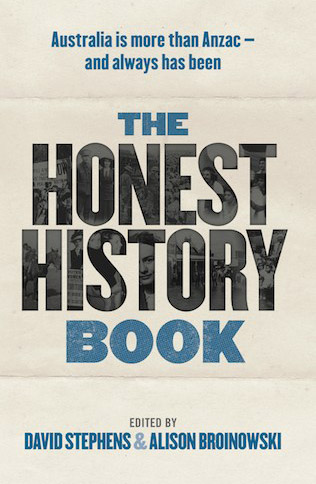 The Honest History Book Cover