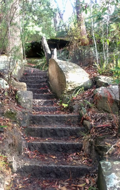 Flat Rock Stairs