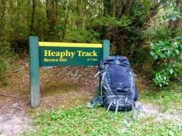 Heaphy Track Start