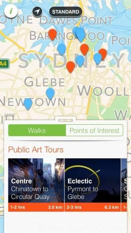 Sydney Culture Walks App