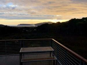 Three Capes Track - Surveyors Hut sunset