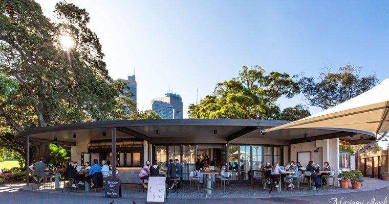 ボタニックガーデン脇のレストラン&カフェ TERRACE ON THE DOMAIN(テラス・オン・ザ・ドメイン)| CBD