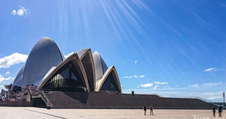 ロックダウン中のシドニーの様子 OPERA HOUSE(オペラハウス編)| CIRCULAR QUAY