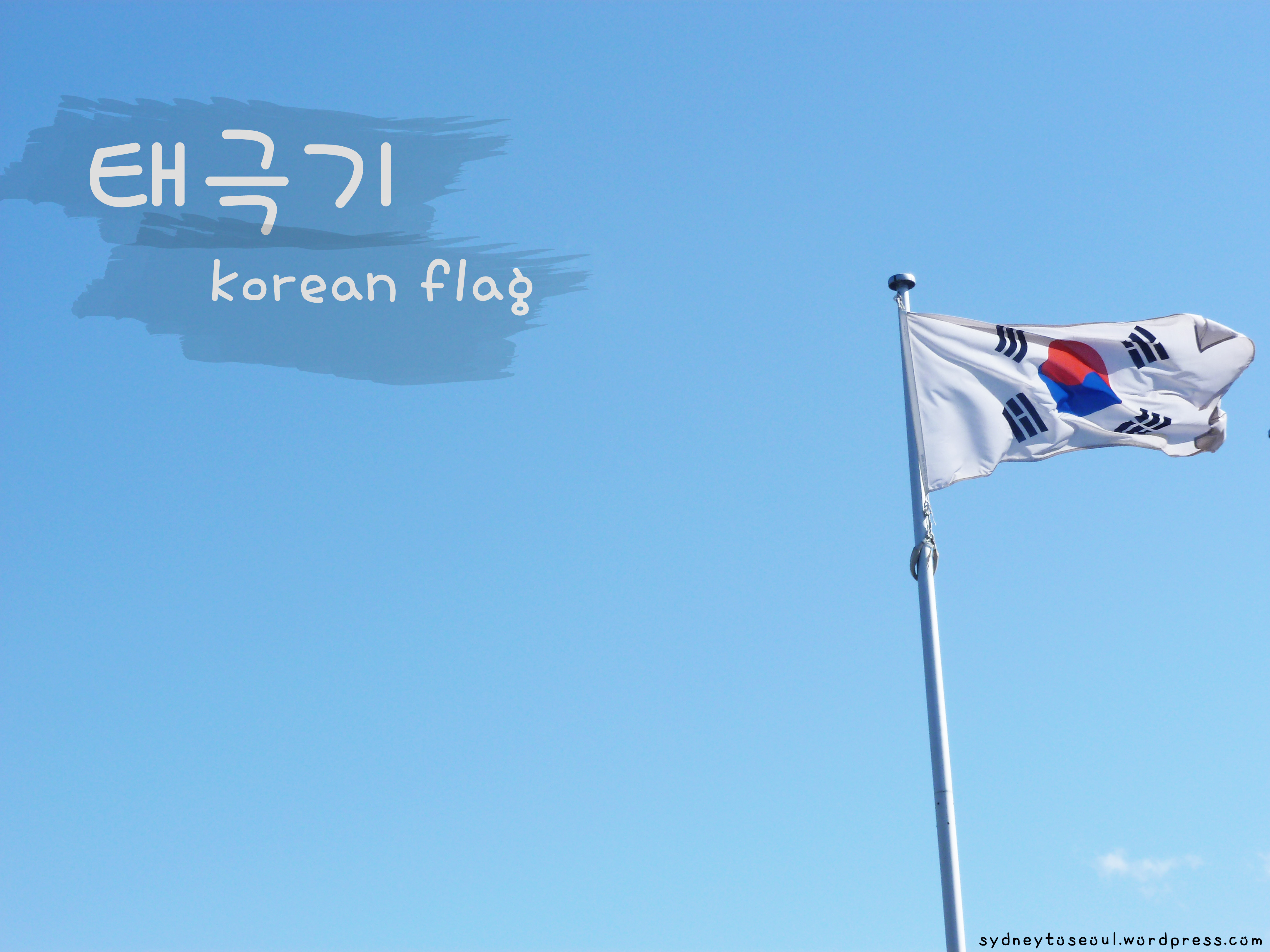 Taegeukgi Korean Flag Sydneytoseoul