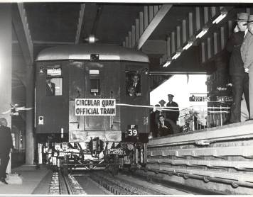 Circular Quay Station turns 65