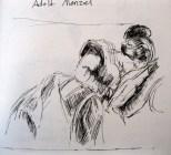 Emilie Menzel Asleep, c. 1848