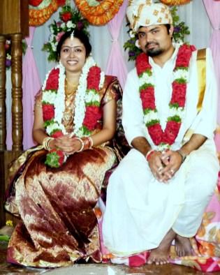 Contrairement à bien d'autres, Rakesh et Sangeetha se connaissaient auparavant
