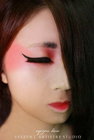 Air Brush Model Makeup