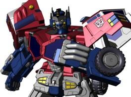 Optimus Prime Transformers Cybertron
