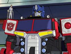 Optimus Prime Transformers Energon